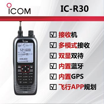 ICOM艾可慕IC-R30接收manmax手机登录